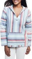 Faherty Stripe Organic Cotton Baja Hoodie