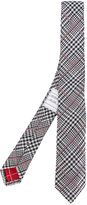 Thom Browne checked tie - men - Silk - One Size