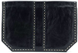 Yves Saint Laurent Pre-Owned 2000 Perforated Detail Clutch