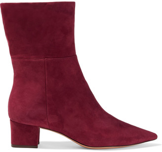 Alexandre Birman Stretch-suede Sock Boots