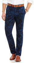 Daniel Cremieux Soho Slim-Fit Flat-Front Stretch Overdye Printed Chino Pants
