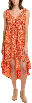 Saltwater Luxe Drawstring Maxi Dress