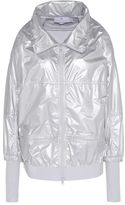 adidas by Stella McCartney Stella McCartney metallic silver run jacket