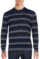 French Connection Striped Merino Wool Sweater