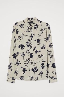 H&M Slim Fit Viscose Shirt