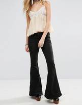Free People Stella Fit And Flare Jeans