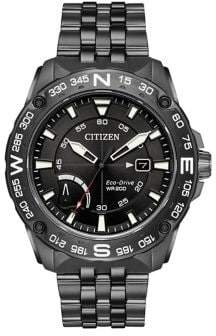 Citizen Eco-Drive Stainless Steel Bracelet Sports Watch