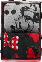 Disney Women's 2-Pk. Minnie Mouse Crew Socks Gift Box