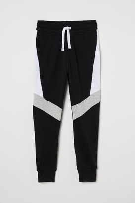 H&M Block-coloured sweatpants