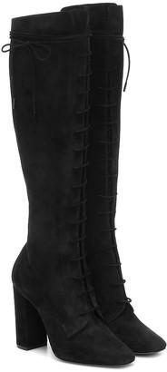Saint Laurent Laura suede boots