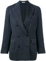 Boglioli double-breasted blazer - women - Cupro/Wool - 38