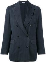 Boglioli double-breasted blazer - women - Cupro/Wool - 38