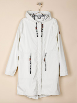 Indi & Cold - Parka Raincoat with Hood - Size XS