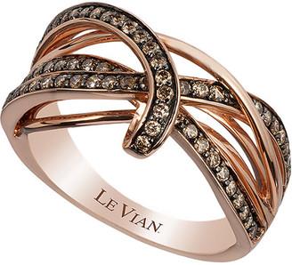 LeVian Le Vian 14K Rose Gold 0.58 Ct. Tw. Diamond Ring
