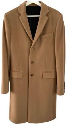 Givenchy Camel Wool Coats