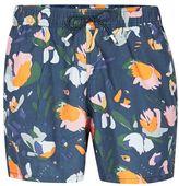 Topman Floral Print Swim Shorts