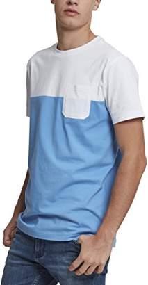 Urban Classic Men's Color Block Summer Pocket Tee T - Shirt
