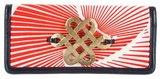 Diane von Furstenberg Embellished Flap Clutch