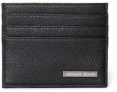 Armani Jeans Black Textured Card Case