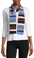 MICHAEL Michael Kors Contrast Striped Fashion Scarf