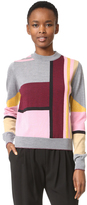 Markus Lupfer Lurex Stripe Grace Sweater