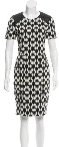 Yigal Azrouel Printed Shift Dress