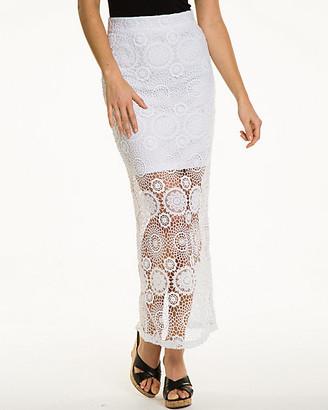 Le Château Crochet Maxi Skirt