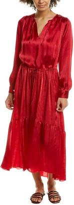 Forte Forte Moire Blouson Dress
