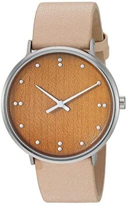 Skagen Finn Juhl Two-Hand Watch (SKW6582 Silver Tan Leather) Watches