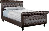 Rooms To Go Rosabella Cream Sleigh 3 Pc Queen Bed
