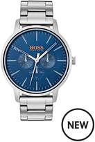 Hugo Boss Hugo Boss Orange Copenhagen Blue Dial Blue Stainless Steel Bracelet Mens Watch