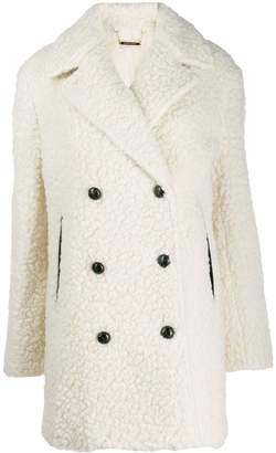 By Malene Birger teddy-effect coat