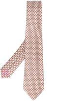 Bulgari monkey print neck tie