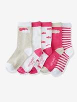 Vertbaudet Pack of 5 Pairs of Socks
