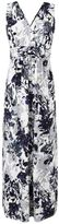 Evans Grace Purple Floral Print Maxi Dress