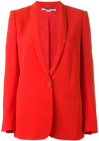 Stella McCartney tuxedo lapel blazer - women - Cotton/Spandex/Elastane/Acetate/Viscose - 42