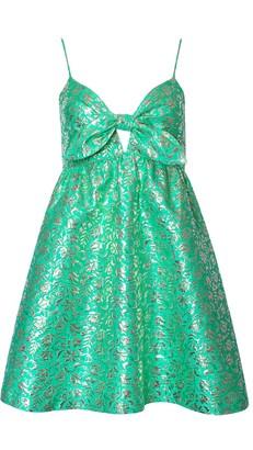 Alice + Olivia Melvina Gathered Baby Doll Dress