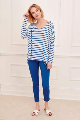 Great Plains Petit Scallop Long Sleeved T-Shirt