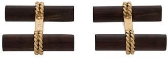 Van Cleef & Arpels Vintage Ebony 18 Kt Cufflinks