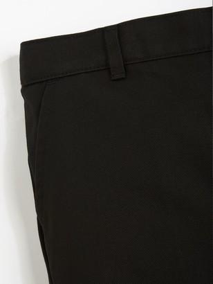 Very Boys 2 Pack Pull On School Trousers - Black
