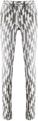 Etoile Isabel Marant Paro high-rise skinny jeans