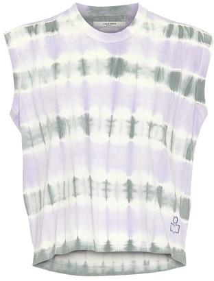 Etoile Isabel Marant Dena tie-dye cotton crop top