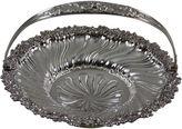 One Kings Lane Vintage 19th-C. Ornate Sheffield Plate Basket