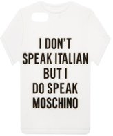 Moschino T-Shirt iPhone 5 Case w/ Tags
