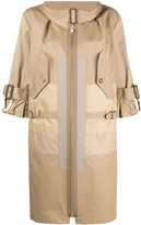 Thumbnail for your product : Junya Watanabe Front Zipped Trench Coat