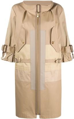 Junya Watanabe Front Zipped Trench Coat