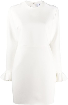 MSGM Ruffled Cuffs Longs-Sleeved Dress