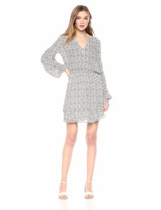 Parker Women's Tyler Long Sleeve Smocked Waist Mini Dress