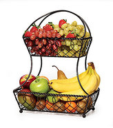 Mikasa Loop & Lattice 2-Tier Flatback Basket