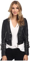 Philipp Plein Rich Leather Jacket